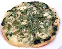 Pizza z mozzarellą i rukolą-mini