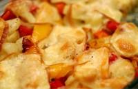 Warzywa zapiekane z oscypkiem-mini