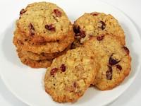 Ciasteczka z żurawinami i białą czekoladą Nigelli Lawson-mini