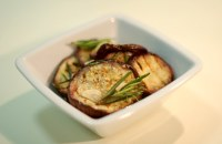 Bakłażany marynowane w oliwie i rozmarynie-mini