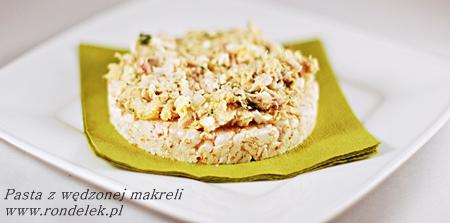 Pasta do chleba z wędzonej makreli-mini