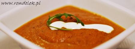Zupa marchewkowo-imbirowa