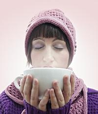Rozgrzewający napój z imbiru, cytryny i miodu